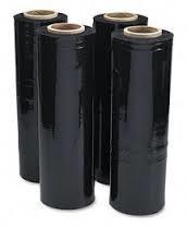 Nyújtható sztreccsfólia 2,2kg 23mikron fekete színben