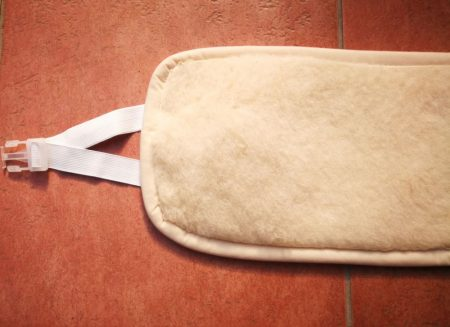 Vastag puha gyapjú derékmelegítő állítható gumi pántokkal