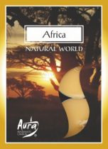 Afrika légfrissítő illatmécses sárga színű gyertya