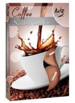 Kávé légfrissítő illatmécses barna színű illatos gyertya