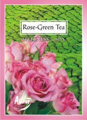 Rózsa és Zöld Tea illatú teamécses MOST CSAK 240Ft!