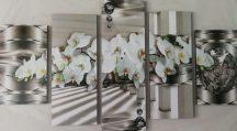 Orchidea öt részes kép