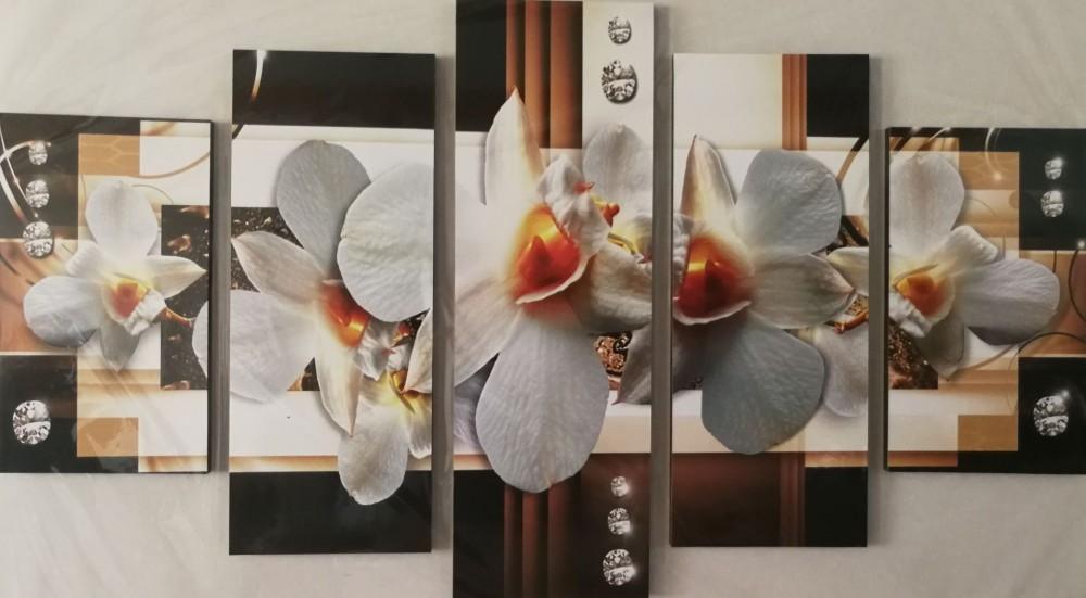 Többrészes falikép - Orchideák 5 - HáziBolt Webáruház - Olcsón jót! ba79b86d95