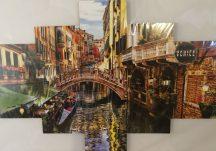 Velencei látkép több részes kép