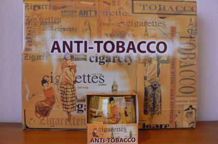 Különleges illatgyertya díszdobozban anti tabak