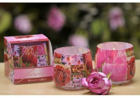 Különleges illatmlécses virág illattal