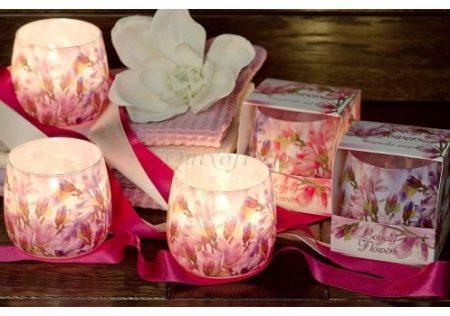 Virág illatú gyertya magnolia