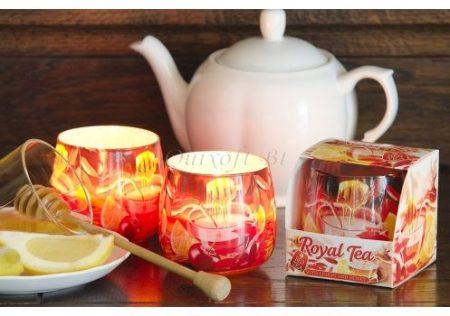 Különleges illatgyertya tea illattal