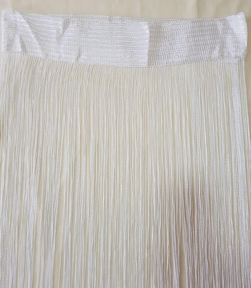 Spagetti függöny - Fehér Natúr 100x200cm - HáziBolt Webáruház ... 0d367b428b