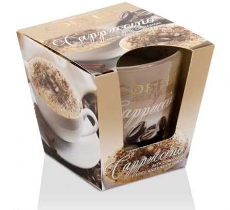 Coffee Spices Cappuccino poharas illatgyertya 115g