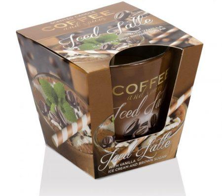 Coffee Spices Iced Latte poharas illatgyertya 115g
