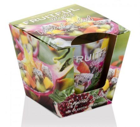 Fruitful Tropical Salad poharas illatgyertya 115g