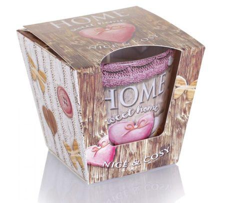 Home Sweet Home Nice Cosy poharas illatgyertya 115g