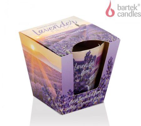 Lavender Fields poharas illatgyertya 115g