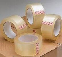 Átlátszó ragasztószalag csomagoláshoz, dobozokhoz
