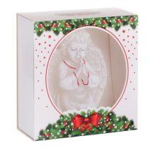 karácsonyi exkluzív dekorgyertya angyal