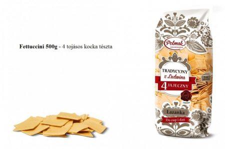 Fettuccini 500g - 4 tojásos kocka tészta