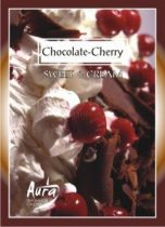 csokoládé és meggy illatú gyertya
