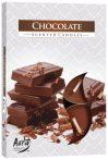 Csokoládé illatú teamécses MOST CSAK 240Ft!