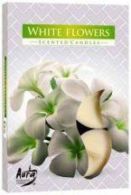 Fehér Virágok illatmécses