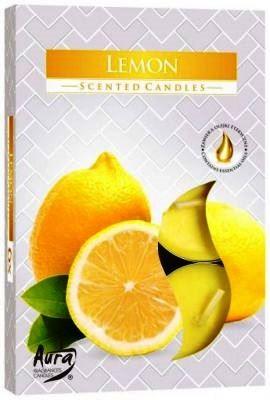lemon citrom illatú teamécses