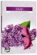 Orgona légfrissítő illatmécses lila színű illatos gyertya