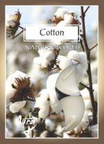 Pamut légfrissítő illatmécses fehér színű gyertya