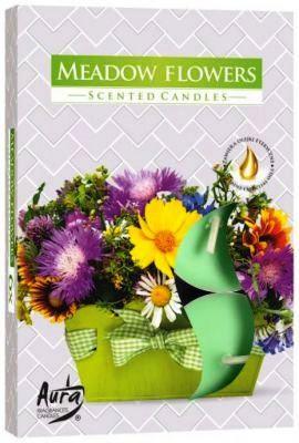 Virágoskert illatú teamécses vegyes virág illatban