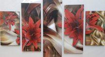 Több részes falikép - Virágok 2