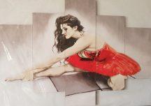 táncos lány öt részes kép