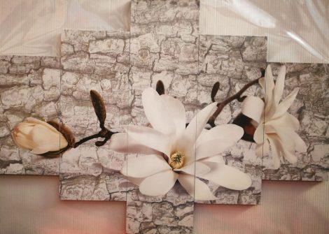 fehér Vanília virág kép