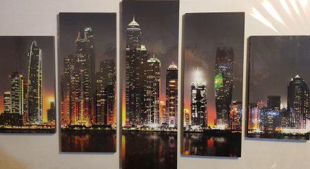 Több részes kép város