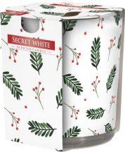 Poharas illatgyertya Secret White