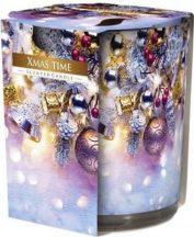 Poharas illatgyertya Merry Christmas
