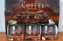 Exkluzív illatgyertya kávé illattal díszdobozban