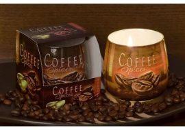 Exkluzív illatgyertya kávé illattal