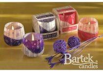 Varázslatos illatú exkluzív üveg gyertya