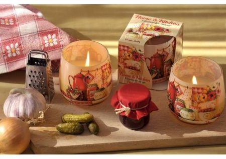 Különleges illatgyertya hangulatos konyhai illatokkal