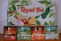 Különleges illatgyertya díszdobozban tea illattal