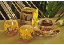 Különleges illatgyertya tea aromával