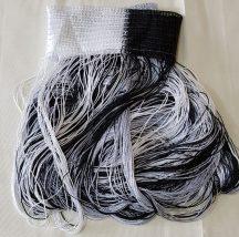 zsinór függönyök fekete ezüst és szürke színben