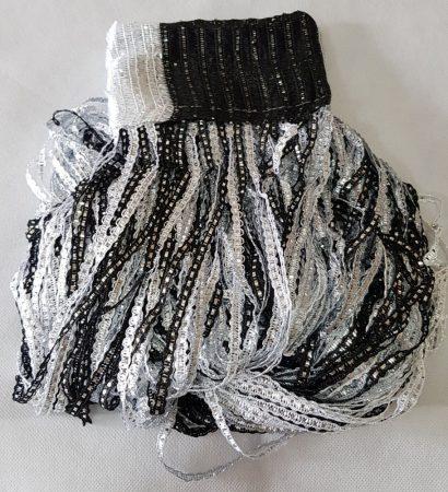 zsinórfüggöny spagettifüggönyök olcsón fekete és ezüst szürke színben