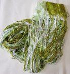 zsinórfüggöny szalagfüggönyök olcsón zöld és ezüst szürke színben